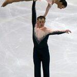 Uniforme de patinaje sobre hielo