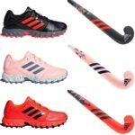 Zapatillas niña de hockey hierba